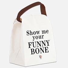 eSarcasm Funny Bone Thong Canvas Lunch Bag