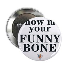 "eSarcasm Funny Bone Thong 2.25"" Button"