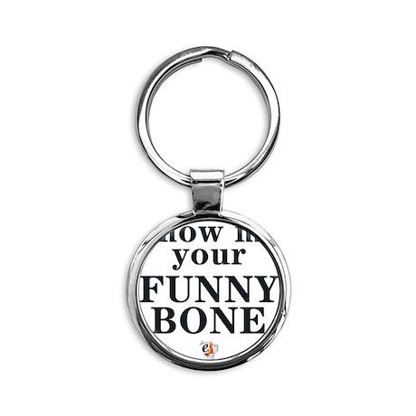 eSarcasm Funny Bone Thong Round Keychain