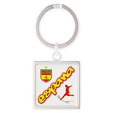España champions aa Square Keychain