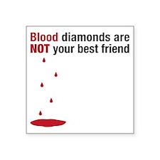 "blooddiamonds Square Sticker 3"" x 3"""