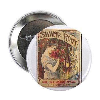 """Swamp Root 2.25"""" Button (10 pack)"""