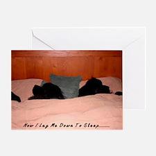 2-Now I lay me down to sleep Greeting Card