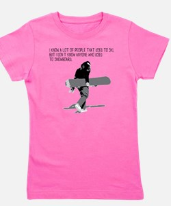 Snowboarder Girl's Tee