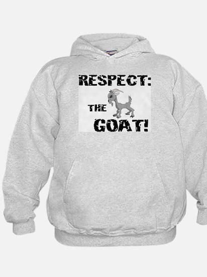 RESPECT the GOAT for Men Hoody
