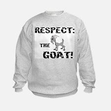 RESPECT the GOAT for Men Sweatshirt
