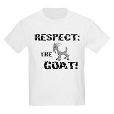 RESPECT the GOAT for Men Kids T-Shirt