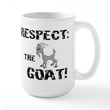 RESPECT the GOAT for Men Mug