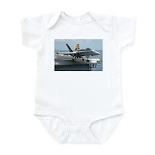 Unique F a 18 Infant Bodysuit