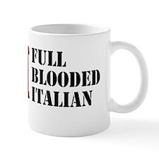 Full Blooded Italian Sticker Mug