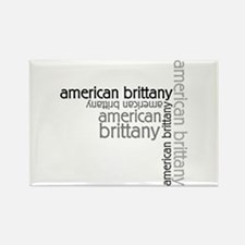 American Brittany Multi Rectangle Magnet (100 pack