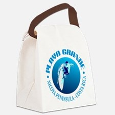 Playa Grande Canvas Lunch Bag