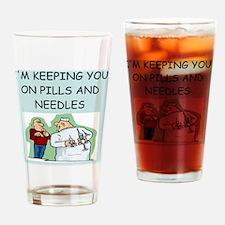 DOCTORS joke Drinking Glass