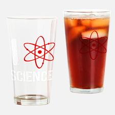 I heart science-2 Drinking Glass