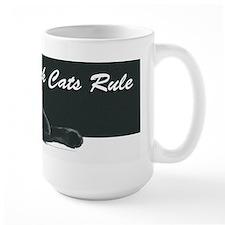 Black Cats Rule 2 Mug