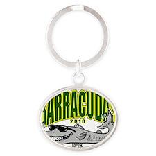 BarracudaST2 Oval Keychain