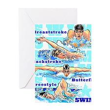 ASwimBoys Greeting Card