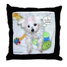 I'm Adorable Throw Pillow