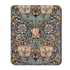 Art Nouveau Blue Vines Mousepad