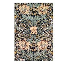 Art Nouveau Blue Vines Postcards (Package of 8)