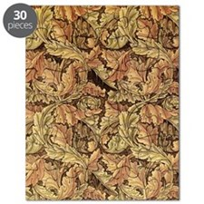 Art Nouveau Autumn Leaves Puzzle