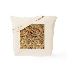 Art Nouveau Autumn Leaves Tote Bag