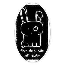 STICKER The Dark sside of cute Decal