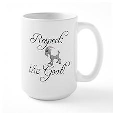 RESPECT the GOAT for Women Mug