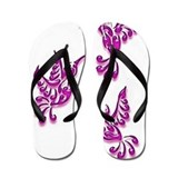 Ladies ladies hummingbird Flip Flops