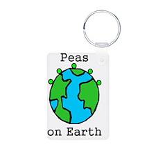 PEAS ON EARTH Keychains