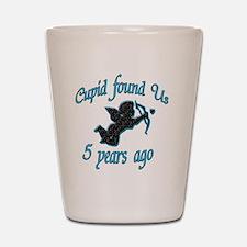 cupid 5 Shot Glass