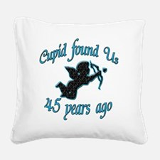 cupid 45 Square Canvas Pillow