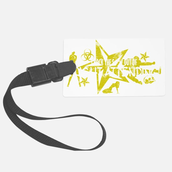 FLIGHT ATTENDING WHT Large Luggage Tag