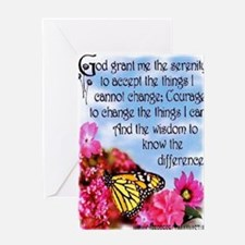 PRETTY SERENITY Greeting Card
