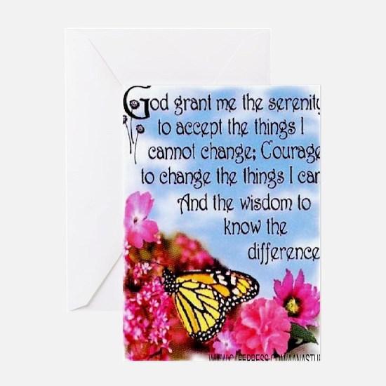 PRETTY SERENITY Greeting Card