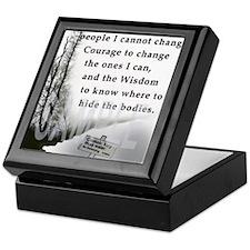 2-TWUSTED SERENITY Keepsake Box