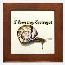 Escargot (snails)- Framed Tile