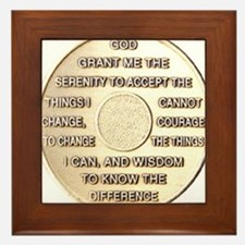 COIN SERENITY Framed Tile