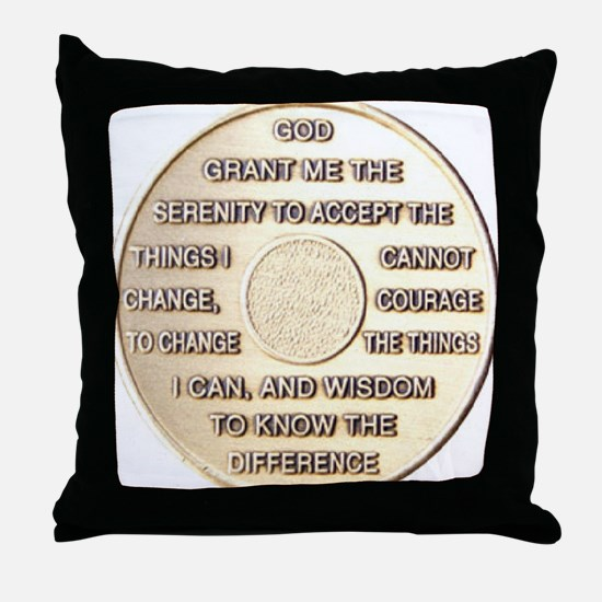 COIN SERENITY Throw Pillow