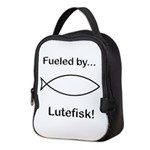 Fueled by Lutefisk Neoprene Lunch Bag