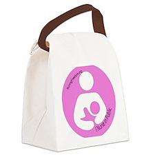 3-roundbfsymbol copy Canvas Lunch Bag