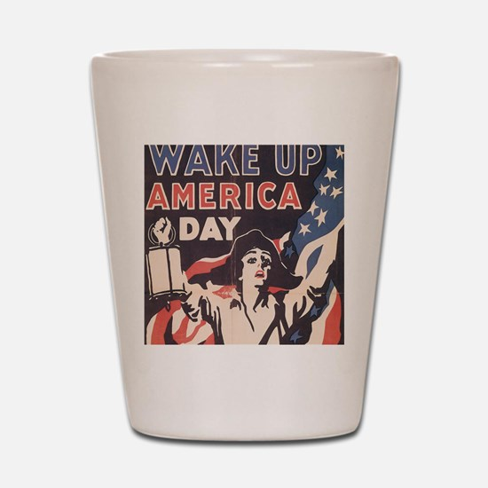 wakeday10x10 Shot Glass