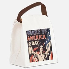 wakeday10x10 Canvas Lunch Bag