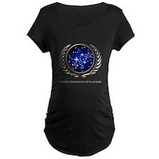 STAR TREK UFP Insignia Maternity T-Shirt