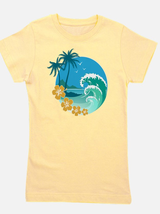 Beach1 Girl's Tee