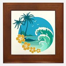 Beach1 Framed Tile
