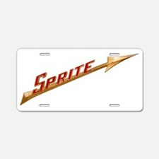 auto-austin-healey-sprite-r Aluminum License Plate