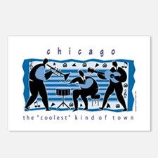 Chicago Musicians Postcards (Package of 8)