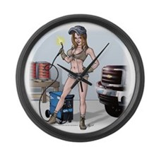 HollieWelder10x10 Large Wall Clock