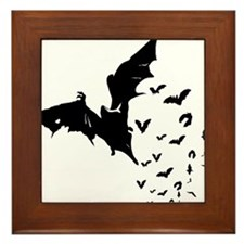 Bat - Halloween Framed Tile